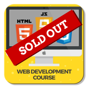 web-development-course-sold-out-icon